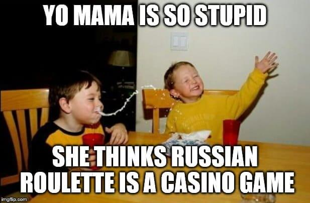 russian roulette meme