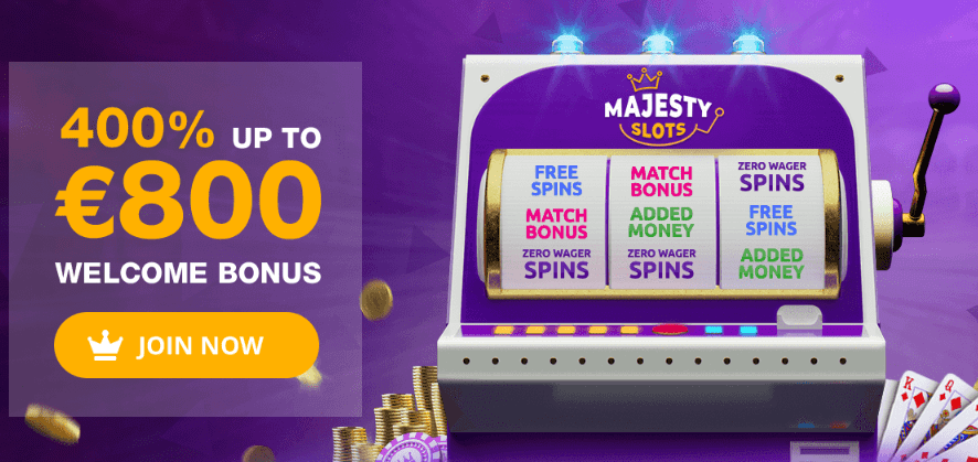 majesty slots casino uk