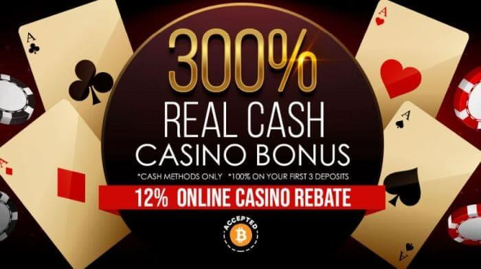Bonus at BetNow Casino