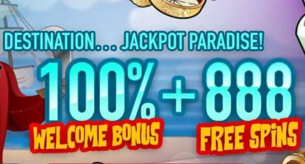 Bonus at Paradise 8 Casino