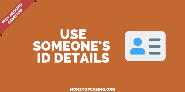 use someone's details