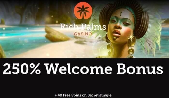 Bonus at Rich Palms Casino