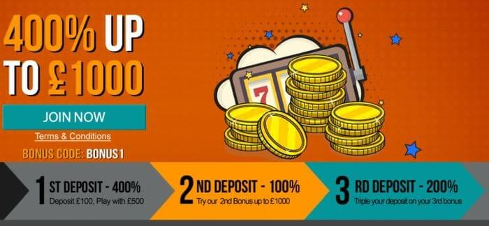 Nonstop Casino Bonus