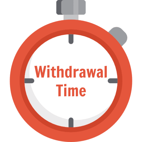 casino withdrawal times and payment methods