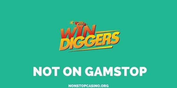 Win Diggers Lottery not on Gamstop