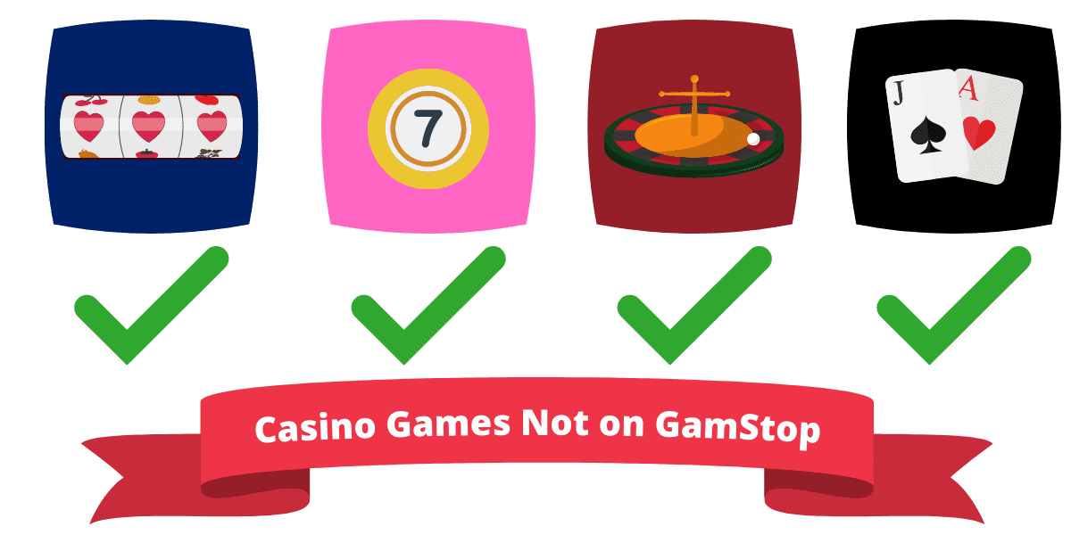 casino games not on GamStop