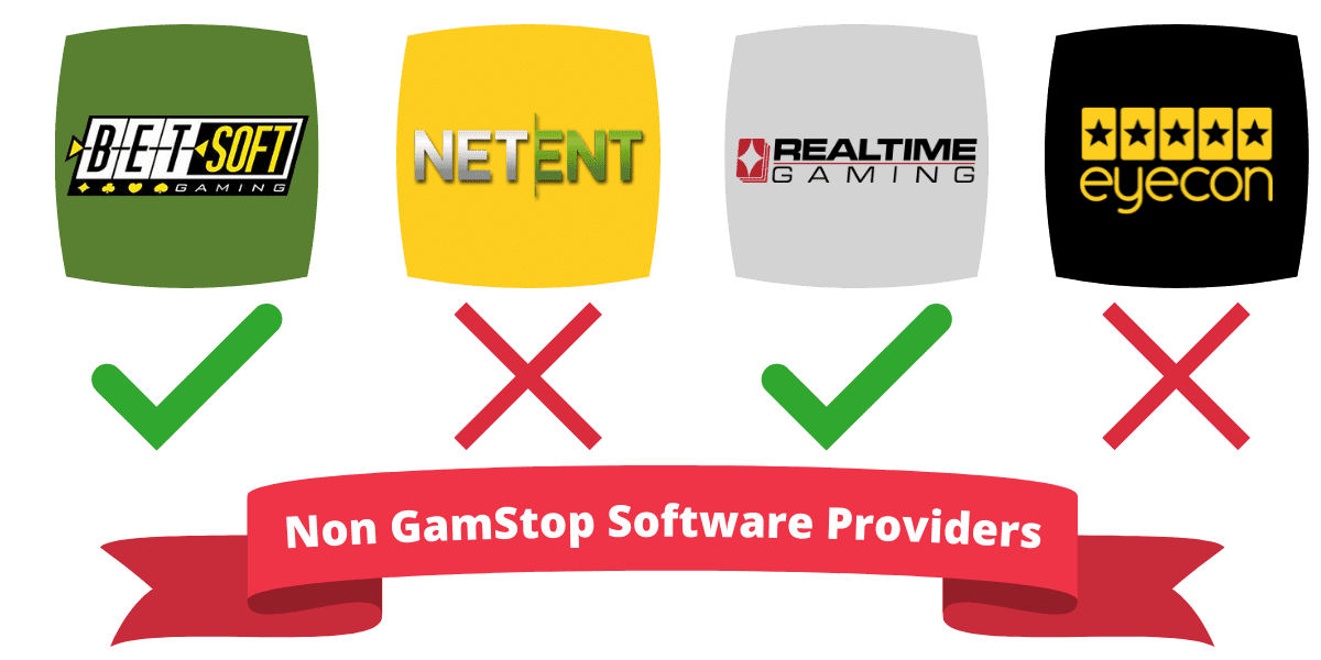 non GamStop casino software developers not on GamStop