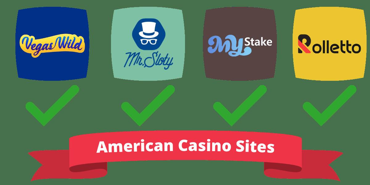 American casino sites accepting British customers