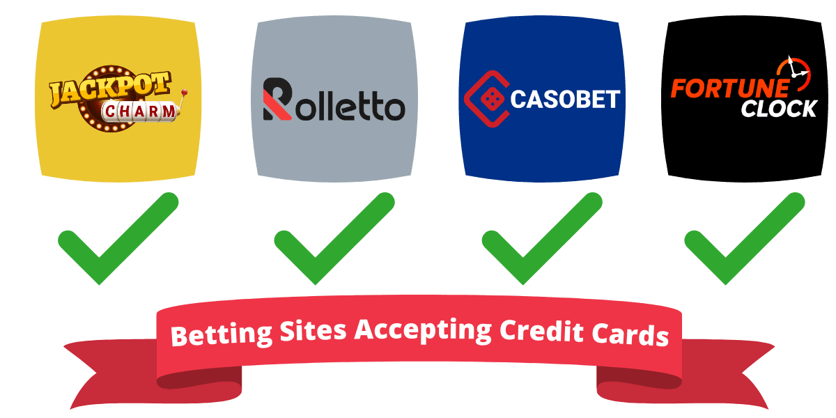 gambling sites accepting credit cards