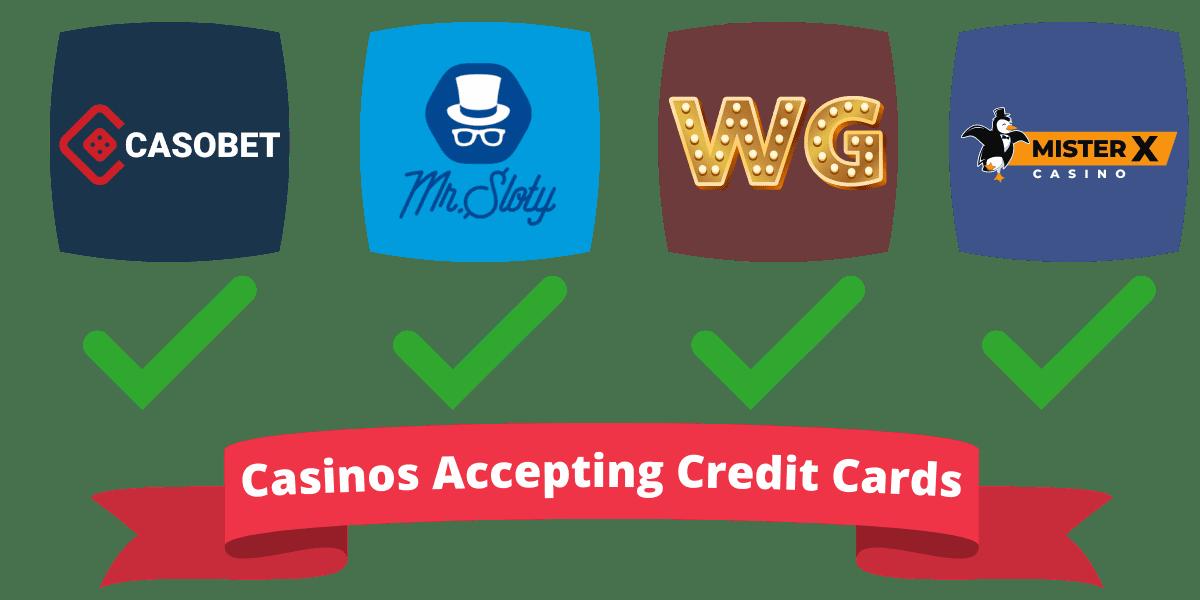 UK casinos accepting credit cards