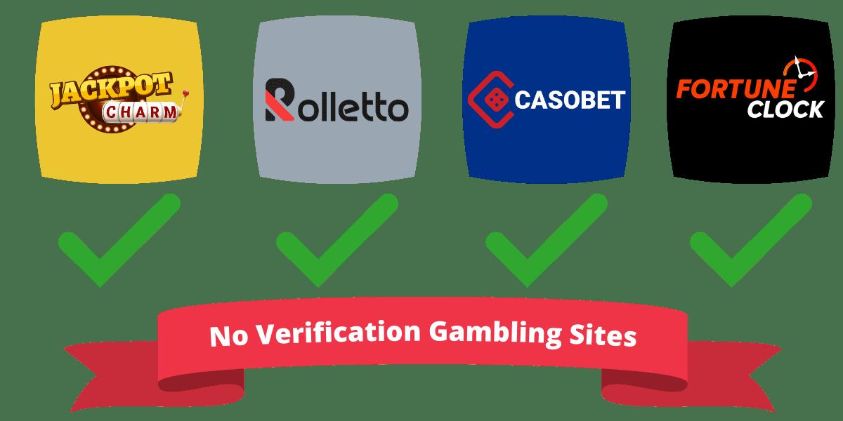 no verification gambling sites