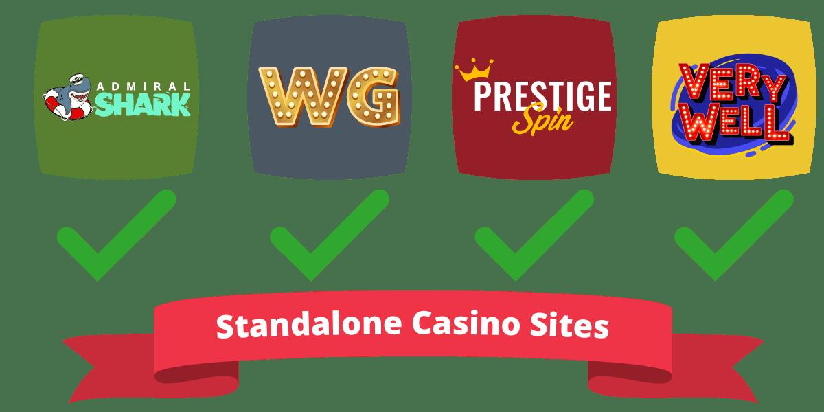 standalone casino sites