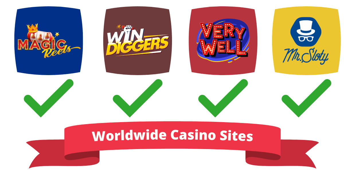 worldwide casino sites